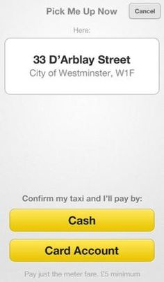 uber london payment options