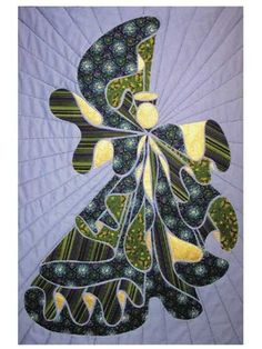 Christmas & Winter Quilt Patterns - Big Sister Angel Quilt Pattern