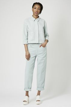 Denim Pocket Shirt and Wide Leg Jeans by Boutique - New In- Topshop Europe