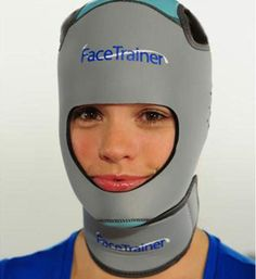 Face Trainer    If you're really into fitness, you'll want to make sure all of your muscles get equal attention. That's the idea behind the Face Trainer, a totally bizarre piece of equipment from beauty company no! no, previously better known for their hair removal creams.