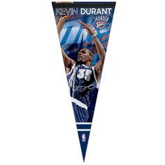 Oklahoma City Thunder Premium Pennant - Kevin Durant