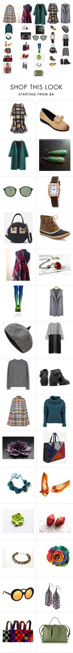 """""""FOR YOU"""" by talma-vardi ❤ liked on Polyvore featuring Ray-Ban, Frédérique Constant, SOREL, MANGO, Missoni, Lowie, Moschino, Fila, Linda Farrow and Jil Sander"""