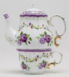 Porcelain Tea for One Setreally like this! - Tea Set - Ideas of Tea Set - Porcelain Tea for One Setreally like this!