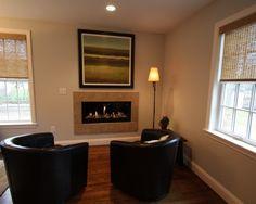 Relaxing space (Almar Building, Hanover Ma) Decor, Hanover, Space, Home, Fireplace, Home Decor, Real Estate, Realty
