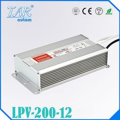 200W 12V 16.5A LED constant voltage waterproof switching power supply IP67 LPV-200-12 #Affiliate