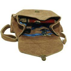 Maison d'usQ Madame Formidable Satchel/Messenger Bag ($387) ❤ liked on Polyvore