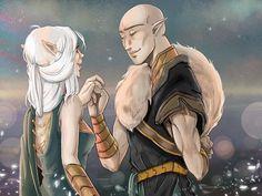 Dragon Age Inquisition: Solavellan - Last dance by RedViolett.deviantart.com on @DeviantArt