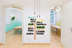 2DAY LANGUAGES: Una Academia de Idiomas de diseño | La Bici Azul: Blog de decoración, tendencias, DIY, recetas y arte