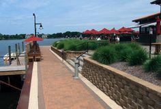 Boatwerks Waterfront Restaurant has a large and varied menu specializing in fresh, local and natural ingredients.  It has the largest outdoor patio in West Michigan with a spectacular view of Lake Macatawa.  Boatwerks is located a half mile away from Downtown.