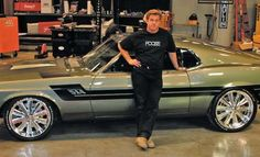 Chip Foose is a car designer and legend of the automotive industry. Chip Foose has created lot of car designs for years. He is known for his clean designs and Ford Mustang Fastback, 1970 Ford Mustang, Mustang Cars, Shelby Mustang, Shelby Gt500, Bugatti, Lamborghini, Ferrari, Chip Foose