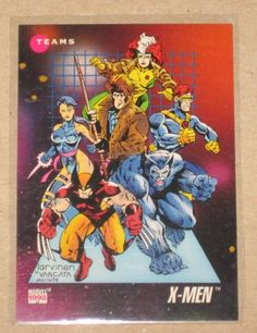 Marvel Universe Series 3 (Impel 1992) Card #182 X-Men NM