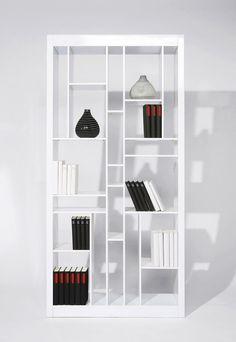 Kare design :: Regał Letter Case biały | MEBLE \ Domowe biuro MEBLE \ Regały i półki WIELKA WYPRZEDAŻ | Kare design Warszawa