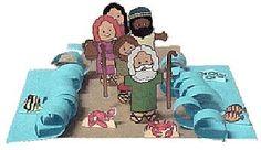 Los niños y la Biblia: Moisés Cruza el Mar Rojo. Más