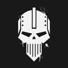 Shop The Punisher Iron Warriors - Warhammer warhammer t-shirts designed by emporiumofman as well as other warhammer merchandise at TeePublic. Warrior Symbols, Warrior Logo, Warrior Tattoos, Warhammer Art, Warhammer 40000, Armor Tattoo, Norse Tattoo, Viking Tattoos, Game Logo Design