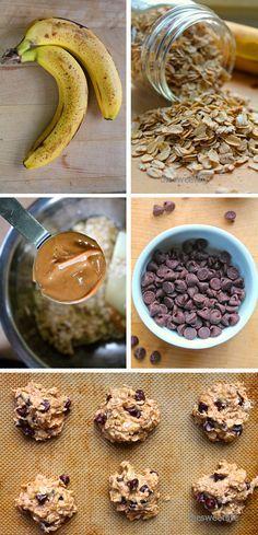4 Ingredient Chocolate Chip Cookies | The Sweet Life