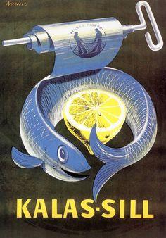 Sellon Erik Bruun -näyttely on avoinna perjantaista lähtien kesäkuun puoliväliin saakka. Poster Ads, Vintage Posters, Retro Vintage, Nostalgia, Advertising, Illustration, Poster, Artists, Eten