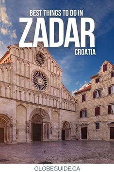 With a perch on the Adriatic Sea, historic landmarks and a romantic old town, there are plenty of fun things to do in the coastal city of Zadar, Croatia. Croatia travel | Croatia photography | Europe travel Best Travel Guides, Travel Tips, Best Landscape Photography, Plitvice Lakes National Park, Adriatic Sea, Croatia Travel, Day Trips, Things To Do, Travel