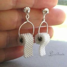 Toilet paper earrings. Boy, would I be p***** if my husband gave me these! Follow RUSHWORLD! We're on the hunt for everything weird and wild!