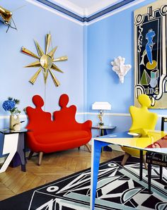 L'appartement surréaliste de Vincent Darré