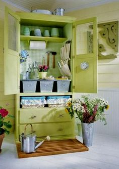 Good use of old armoire