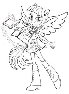 My Little Pony Equestria Girls Coloring Pages | Coloring99.com ...