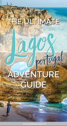 Lagos, Portugal is the perfect place for newbie adventurers. Here's all of the b… Lagos, Portugal is the perfect place for newbie adventurers. Here's all of the best things to do in Lagos, Portugal – from surfing to lazing around on the beach. Braga Portugal, Sintra Portugal, Visit Portugal, Spain And Portugal, Faro Portugal, Road Trip Portugal, Portugal Travel Guide, Portugal Vacation, Europe Travel Tips