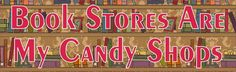 10x3 Book Stores Are My Candy Shops Bumper Sticker Window Decal Stickers Decals