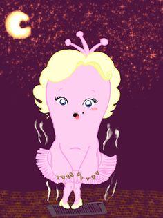 drawinggraphics.: Luisa Monroe com seu cabelo loiro no Que Monstro te Mordeu?