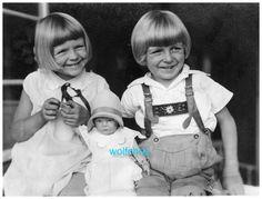 Orig Foto Abzug Reprint Kinder Mit Käthe Kruse Puppe   eBay