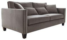Grey Contemporary Sofa