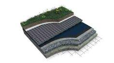 Neotech Roof. Polinorte SA (www.polinorte.com) Neotech Roof es una placa termodrenante ideal para cubiertas ajardinadas y techos invertidosque necesiten ser aislados térmicamente y asegurar el drenaje del agua de lluvia.Está elaborada con Neotech de alta densidad, que permite ser colocado en todo tipo de cubiertas de viviendas y de edificios en altura, que no han sido aisladas previamente aplicando el concepto de techo invertido.