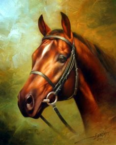 Animal paintings for sale- animal paintings by artist Arthur Braginsky. Painted Horses, Art Paintings For Sale, Animal Paintings, Horse Pictures, Art Pictures, Horse Artwork, Horse Portrait, Horse Drawings, Equine Art