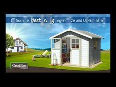 Das Grosfillex Gartenhaus Deco H7.5 aus PVC ist ästhetisch und langlebig. Korpusmaß: 3,15 x 2,39 m. Farbe: rot/weiß.    Im Gegensatz zu Häusern aus Holz benötigen Kunststoffgartenhäuser weder eine Lasur noch einen Anstrich, denn eine...