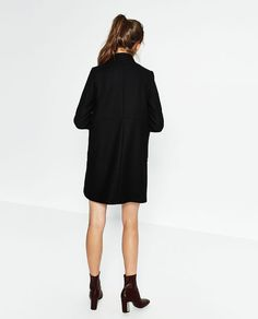 Image 4 of DOUBLE-BREASTED COAT from Zara