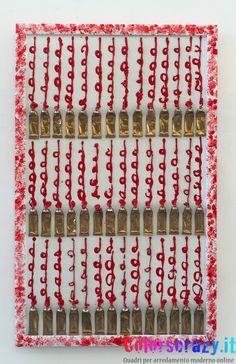 Collage tubetti di colore stile Arman Fernandez - Acquista su www.colorscrazy.it