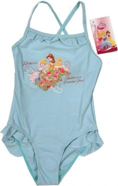 Costum baie Princess, 82% polyamida, 18% elastan. Graphic Tank, Onesies, Costumes, Disney Princess, Tank Tops, Kids, Clothes, Women, Fashion