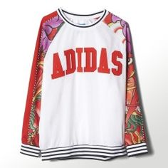 Chaquetas Adidas Rita Ora Dragon Print Sweatshirt mujer