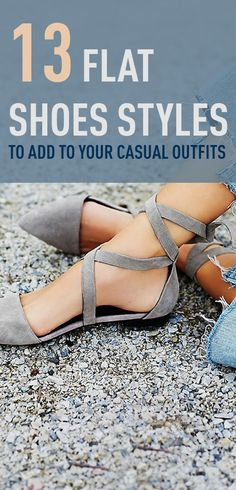 Pick the best flats for your casual outfits. Here's a collection of the most trending flats to add to your outfits.