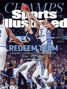 ba2bffc13058 Kennedy Meeks makes a key block of a Gonzaga shot to help lead UNC Tar  Heels to the 2017 national championship!