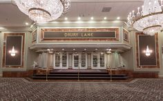 What awaits behind these doors? A comedy, musical, drama, classic performance...Drury Lane Theatre in Oakbrook Terrace has it all.