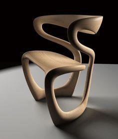 S Chair by Tom Vaughan. @designerwallace