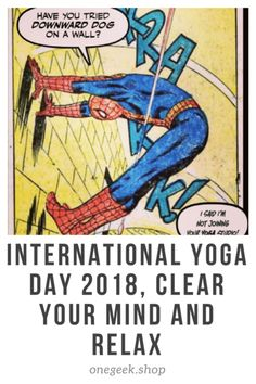 International Yoga Day Clear Your Mind and Relax – One Geek International Yoga Day, Clear Your Mind, Ways To Relax, Health Benefits, Mindfulness, Geek, Holidays, Friends, Fitness
