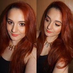 Daring Coral Dares, Evolution, Coral, Make Up, Makeup, Beauty Makeup, Bronzer Makeup