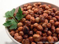 Kleiner Kuriositätenladen: geröstete Kichererbsen zum Knabbern