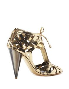 Tom Ford Cage Sandals With Marble Inspired Heel