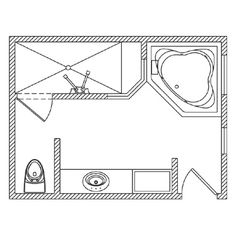 9x9 layout bathroom layout pinterest bathroom floor for Bathroom design 9x9