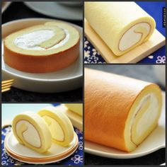 教你如何做出原味日式棉花蛋糕卷❤;Shareba!分享吧