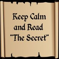 "Keep Calm and Read ""The Secret"""