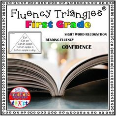 Reading Fluency Activity - Fluency Triangles® for Second Grade Sight Words {RTI} from Kinesthetic Classroom Second Grade Sight Words, Pre Primer Sight Words, Third Grade, Reading Fluency Activities, Phonics Reading, Teaching Reading, Learning Sight Words, Reading Practice, Reading Skills