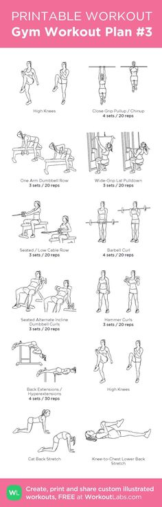 Gym Workout | Posted By: CustomWeightLossProgram.com